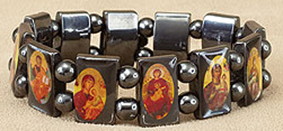 Devotional Icon Saints Stretch Bracelet