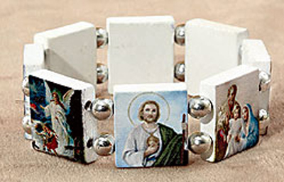 Devotional Saints Stretch Bracelet